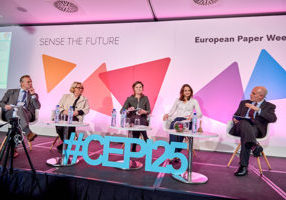 """Sense the Future"" High Level Session at European Paper Week 2017."